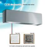 Portello centrifugo di /Air della cortina d'aria di raffreddamento di Argento-Facilità dell'acciaio inossidabile (tipo verticale disponibile)