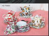 Porzellan-Tee-Satz