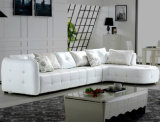 Современное итальянское кожаный диван производитель Фошань Ордп мебель F239
