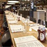 (SD3017) Disposizione dei posti a sedere pranzante moderna della cabina per la mobilia su ordinazione del ristorante