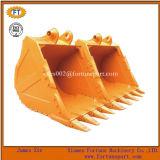 Cubeta padrão da rocha das peças sobresselentes da máquina escavadora de KOMATSU Hitachi da lagarta