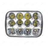 10-50V 7 LKW-Scheinwerfer-hohe Leistung des Zoll-60watt LED