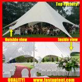 Популярные Алюминиевый звездообразный тени Палатка для группы диаметром 18 м 150 человек местный гость