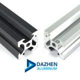 6063 T5 최신 판매 T 슬롯 V 슬롯 알루미늄 단면도 선형 가로장