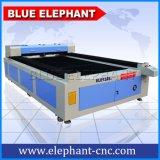Taglierina capa del laser di CNC del laser del fuoco automatico, tagliatrice del laser del metallo del CO2 con il gas di assistenza