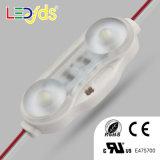 2개의 LEDs 다채로운 IP68는 SMD LED 모듈 2835를 방수 처리한다