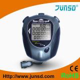 Contador de tiempo impermeable del deporte del cronómetro de Digitaces con el contraluz (JS-9002)