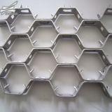 1*2m hexagonal de acero inoxidable hexagonal de acero, acero hexagonal Net Fr3.