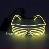 Leuchtton betätigte blinkende gekerbte Sonnenbrille-Blendenverschluss-Farbtöne