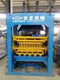 Blocchetto concreto automatico del mattone della cavità del lastricatore che fa macchina