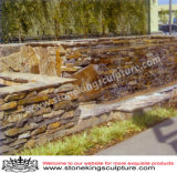 Культуры из камня и плитки на стене из камня (SK-3070)