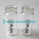 Kundenspezifische Firmenzeichen-Drucken-Einspritzung-Phiole für Testosteron-Azetat-Verpackung