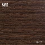 70-80g/m² de ancho 1250 mm de grano de madera decorativa de papel para suelo laminado