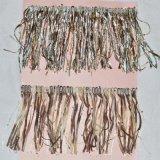 La couleur Fringe accessoires du vêtement de fraisage de la dentelle 0066