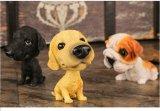 Het Hoofd MiniatuurBeeldje van de Hond diverse Bobbling