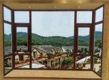 Fuxuan Aluminiumneigung-und Drehung-Fenster mit Vorhängen