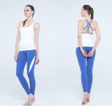 Goldenpalm Apparel Inc Ensemble de yoga sexy plaidée en plaid personnalisé pour Lady