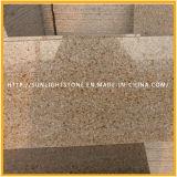 G682 포장하거나 싱크대를 위한 녹스는 노란 화강암 Gangsaw 화강암 절반 석판