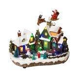 Haus-Dekoration-Geschenke des Dorf-Art-Weihnachtenled