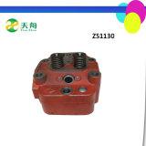 15HP pequeño ensamblaje refrigerado por agua de culata del motor diesel Zs1110