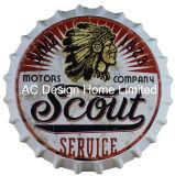 Vintage дизайн металлические печати пиво с удаления зубного налета