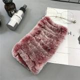 Venda por grosso de cabeça barato / bocal de peles de raposa lenço mais quentes da banda de cabelo