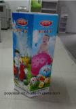 6 laterales de cartón impreso Offset Cmyk Dumpbin Mostrar en Toysrus Bola de juguete, creativo y de Papel resistente Dumpbin Pantalla para la Promoción!
