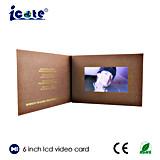 Дешевое цена от карточки Китая 6inch LCD видео-