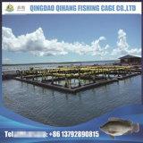 Cage de flottement de poissons de Tilapia pour la pisciculture dans le lac