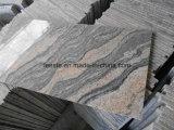 Straatsteen van het Graniet van China Juparana de Lichtgrijze