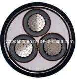 La tension 18/30 (33) conducteurs en aluminium XLPE de kilovolt a isolé le câble blindé de bande en acier
