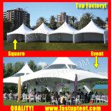 Tenda poco costosa del culmine del tetto del doppio di prezzi per il diametro esterno 12m di cerimonia nuziale ospite di Seater delle 100 genti