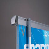 Производитель Складной алюминиевый прокрутки баннер подставка для дисплея