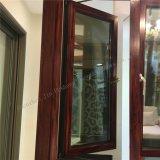 Stoffa per tendine del grano di scambio di calore del doppio di alluminio di legno di profilo/tenda di vetro Windows