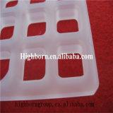 Hoja blanca lechosa a prueba de calor del cuarzo