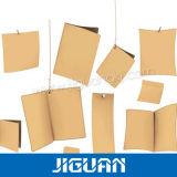 Aufbereitete Papierjeans-Fall-Marke