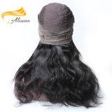 Parrucca piena del merletto di trasporto dei capelli indiani liberi del Virgin