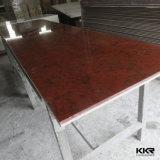 Marbre artificiel extérieur solide acrylique de Kkr