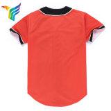 Polyester personnalisés SUBLIMATION Maillot de l'équipe de baseball des chemises