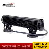 108W 17.2 helle Stäbe des Zoll-LED für weg von Straße