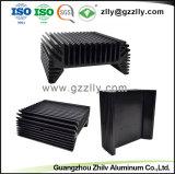 Espulsione di alluminio dell'OEM Precison per il dissipatore di calore chiaro del LED con l'anodizzazione