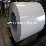 Il rivestimento d'acciaio di colore, prevernicia la bobina d'acciaio galvanizzata, PPGI, PPGL, Ral9001, Ral6005, colora la lamiera di acciaio