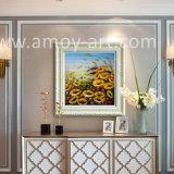 Декоративная живопись цветочных полей картины маслом для интерьера