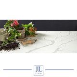 Белый кварцевый миниатюры слоя Kichentop Calacatta белый кварцевый место на кухонном столе