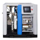 compresseur d'air exempt d'huile de la vis 75/100HP avec le prix usine