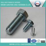 Boulon Hex d'acier inoxydable d'acier du carbone, DIN931/933