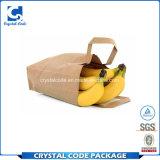 Sac de papier de modèle de logo d'impression de fruit neuf d'emballage