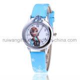 Het populaire Horloge van Jonge geitjes met de Band van het Leer voor Meisjes