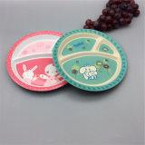 多彩な印刷された再使用可能な食糧サービングの皿