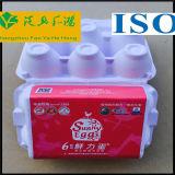 El cartón del huevo de recicla la pulpa moldeada papel a prueba de choques